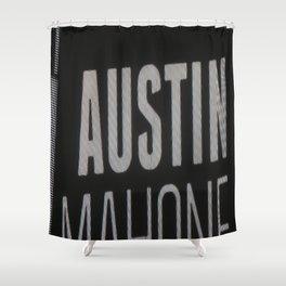 Austin Mahone Shower Curtain