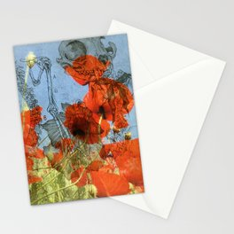 Chine colle Stationery Cards