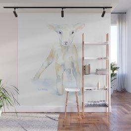 Baby Lamb Wall Mural