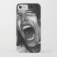 tyler spangler iPhone & iPod Cases featuring Steve Tyler by ''Befne''
