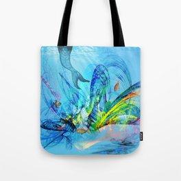 Mermaid house Tote Bag