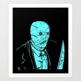 Nightbreed: Decker Art Print