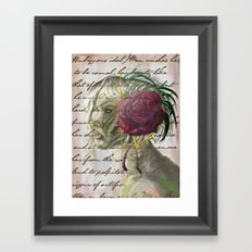 Ambiguous Idol Framed Art Print