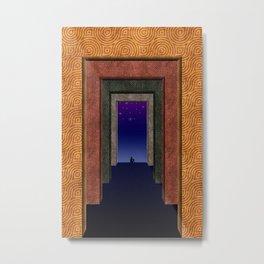 Halls of Solitude Metal Print
