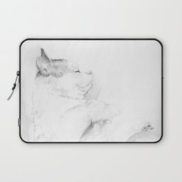 Playful Cat IV Laptop Sleeve