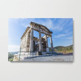 ruins of ancient city of Messina, Peloponnese Metal Print