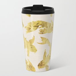 Gold fish Travel Mug