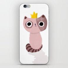 King Kitten iPhone Skin