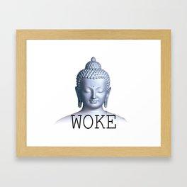 WOKE Framed Art Print
