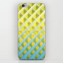 Deep Magic grid 04 iPhone Skin