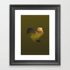 Vector Love 02 Framed Art Print