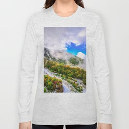 Autumn in Mountains Long Sleeve T-shirt