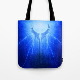 Vikings Valkyrie Wings of Protection Storm Tote Bag