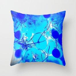 Blue Tomato Chutney Throw Pillow