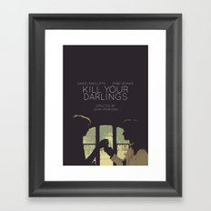 Kill Your Darlings Framed Art Print