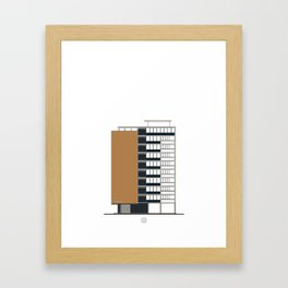 Edificio Terepaima Framed Art Print
