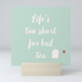 The Tea Lover II Mini Art Print