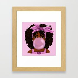 Bubble Gum Framed Art Print