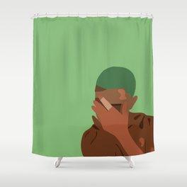 Frank Blond poster Shower Curtain