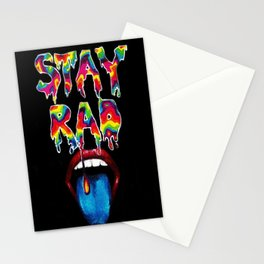 Stay Rad Stationery Cards