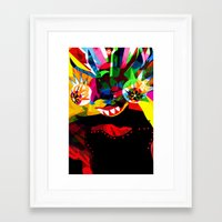 diablo Framed Art Prints featuring diablo 2 by Alvaro Tapia Hidalgo