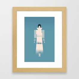 Project Fabrica Art Prints | The New Museum / SANAA | Architectural Fashion Illustration Framed Art Print