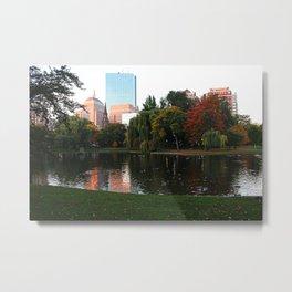 Boston Gardens Metal Print