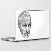 christopher walken Laptop & iPad Skins featuring Christopher by Rik Reimert