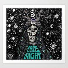 LATE NIGHT Art Print