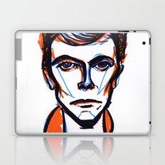 David Bowie Vibrant Orange Laptop & iPad Skin