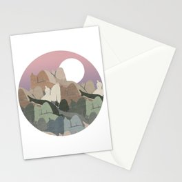 The Mountain's Flesh Stationery Cards