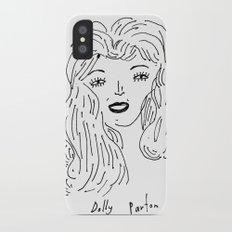 Dolly Parton iPhone X Slim Case
