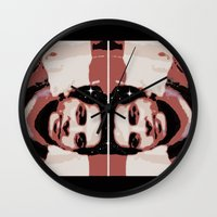 spaceman Wall Clocks featuring Spaceman by ACUN