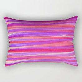 Tertiary Ribbons Rectangular Pillow