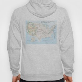 National Parks Trail Map Hoody
