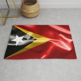 East Timor Flag Rug