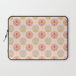 Sailor Moon broach Pattern Laptop Sleeve