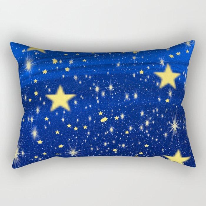 Starry, Starry Nights... Rectangular Pillow
