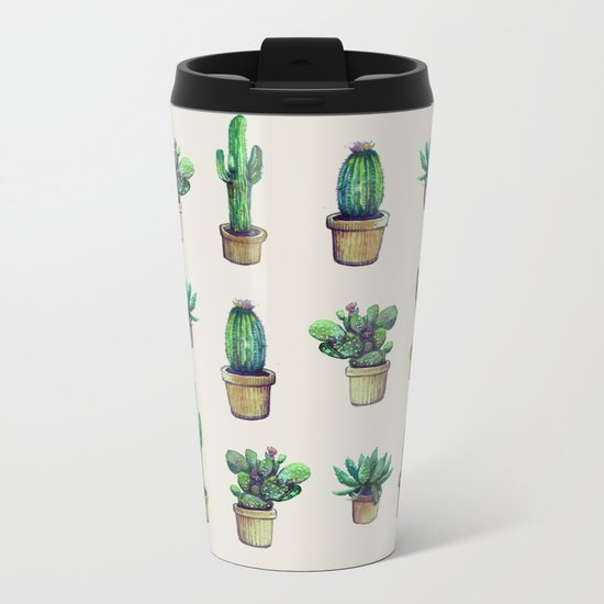 cactus original Metal Travel Mug