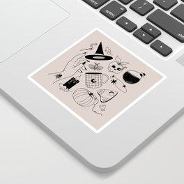 October Mood Sticker