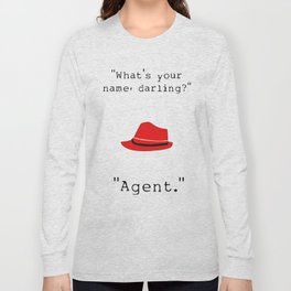 What's your name, darling? Long Sleeve T-shirt