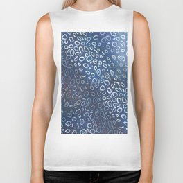 spotted eagle ray skin Biker Tank