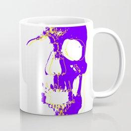 Skull - Purple Coffee Mug