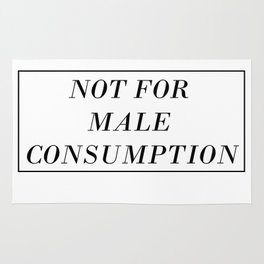 Male Consumption Rug