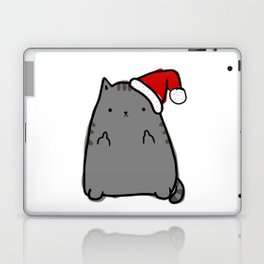 Christmas Cat Double Bird Laptop & iPad Skin