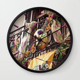 Krewe of Cork Wall Clock