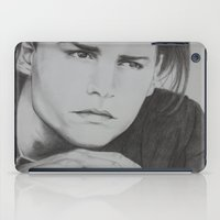 johnny depp iPad Cases featuring Johnny Depp by Brooke Shane