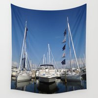 marina Wall Tapestries featuring Marina by M. Gold Photography