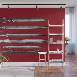 Examples of Iron Workmanship Wall Mural