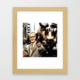 Business First! Framed Art Print